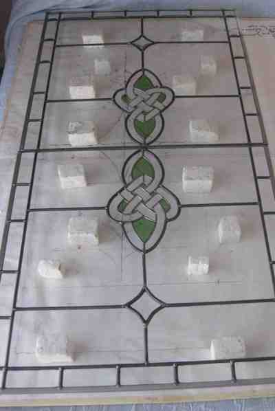 Celtic Heart Large Panel Build