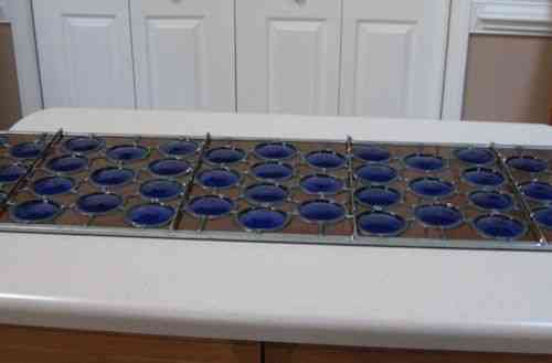 Cobalt Blue Wine Bottle Transom reinforcement