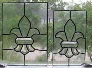 Fleur De Lis Window Inserts