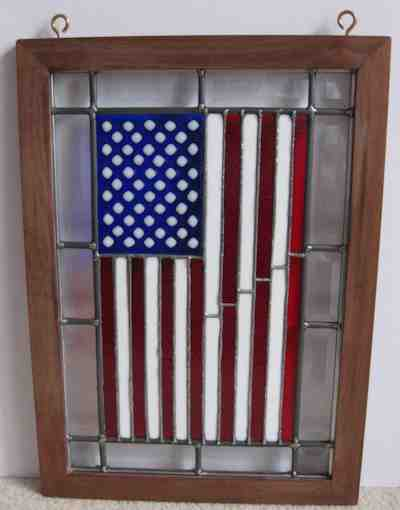 Custom American Flag Hanging