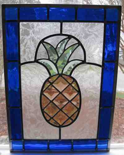Stained glass bevel design
