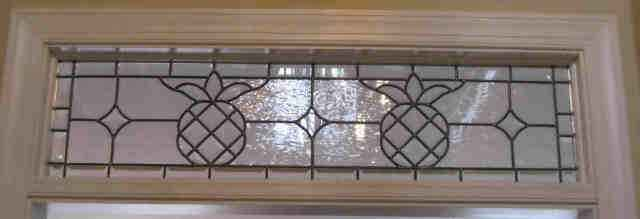 Custom Stained Glass Transom