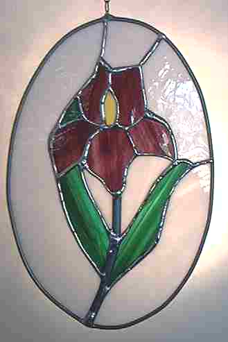 Stained Glass - Cameo Iris