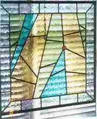 Custom Stained Glass - Large Abstract