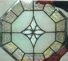 Custom Stained Glass - Octogonal Window