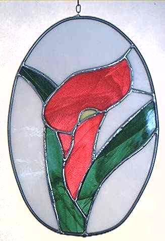Stained Glass - Cameo Lily