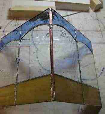 Stained Glass - Small Garden side assembly