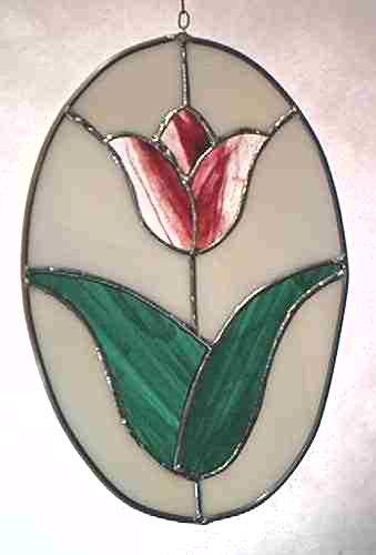 Stained Glass - Cameo Tulip